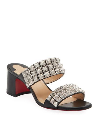 Myriadiam 55 Red Sole Slide Sandals