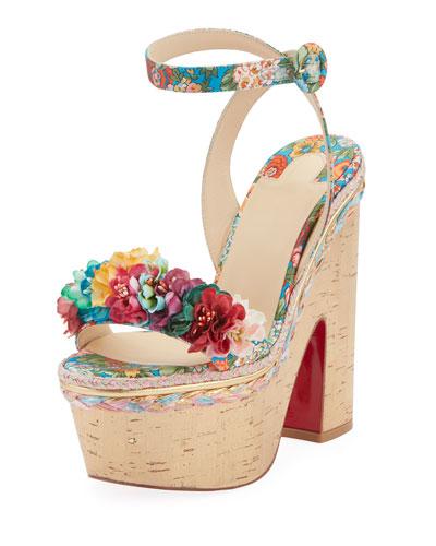 Arielle Sevillana Red Sole Sandals