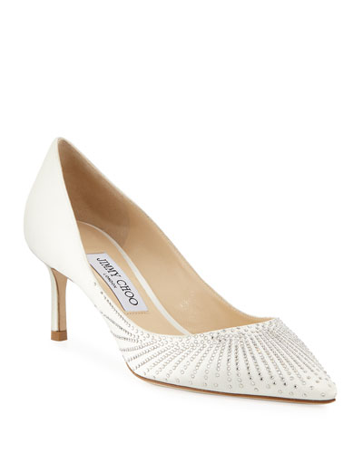 Romy Strass Pointed Pumps