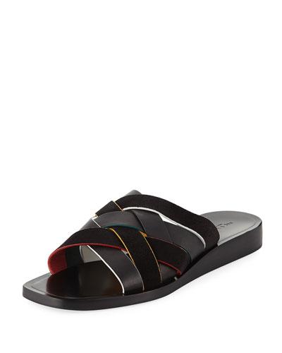 Hartley Woven Flat Sandals