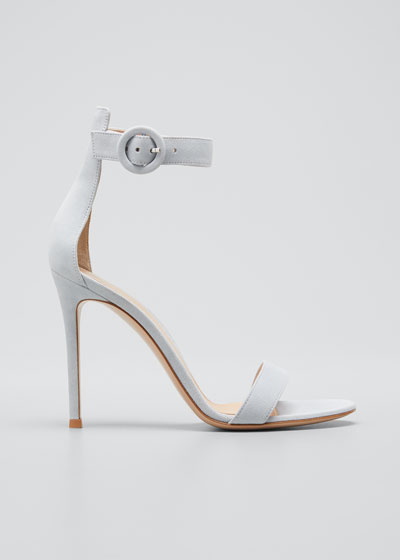 Portofino Suede 105mm Sandals
