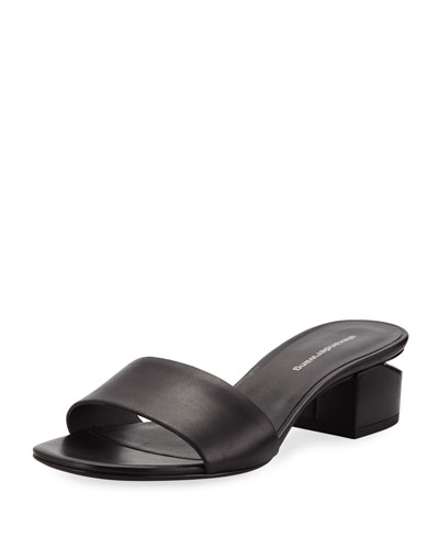 Lou 40mm Calf Slide Sandals