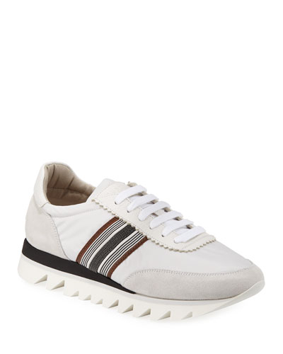 d95d73dfc10 Nylon Techno Rubber Sneakers
