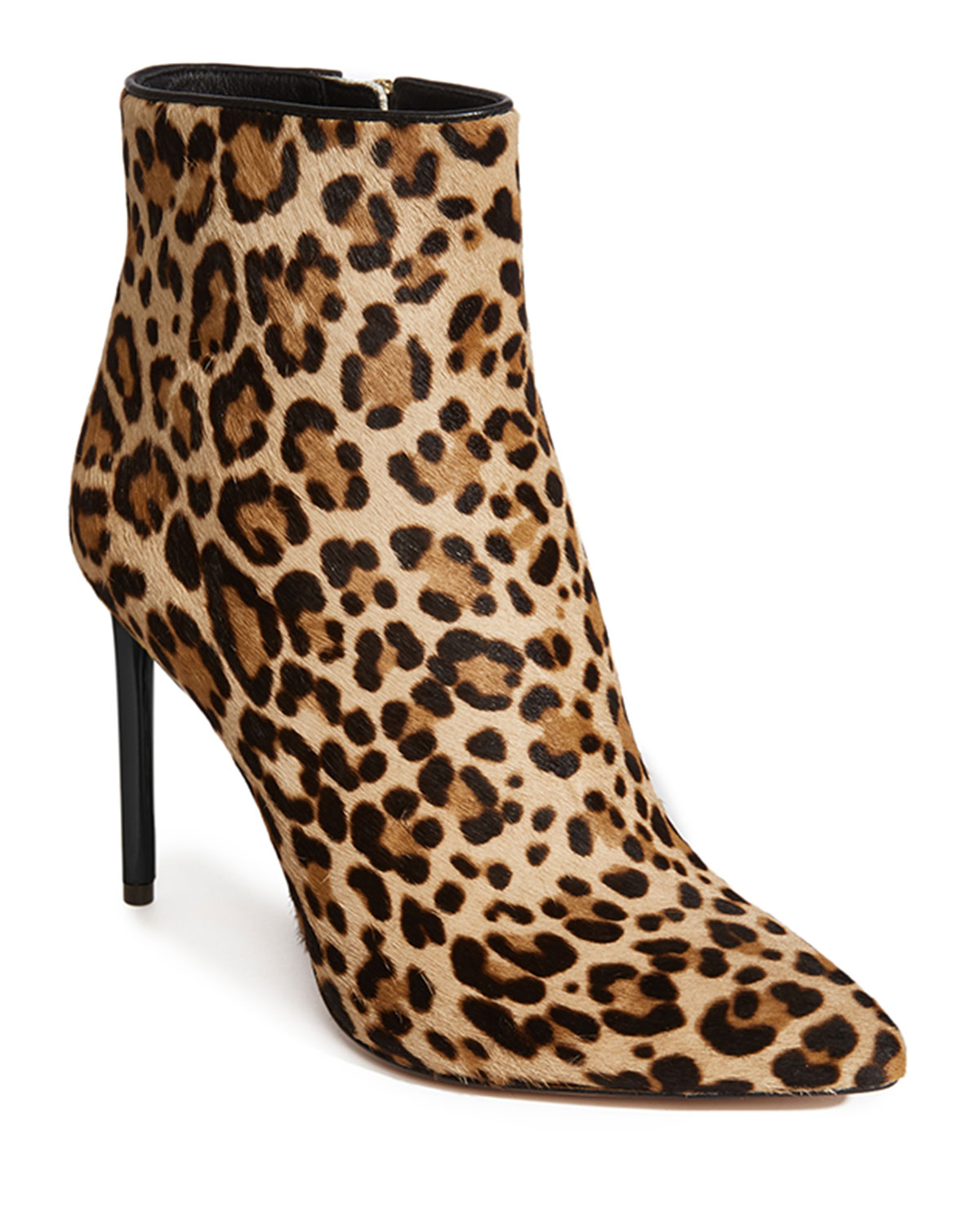 Alice And Olivia CELYN POINTED FUR BOOTIES