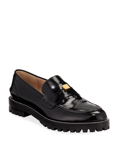 Penley Patent Slip-On Loafers