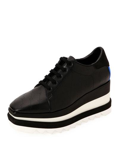 Sneakelyse Lace-Up Platform Sneakers 4312385e9e2