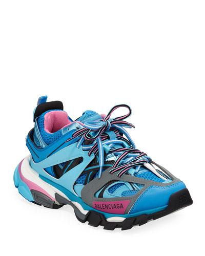ce62b15a3d Track Colorblock Mixed Sneakers, Bleu Roi Quick Look. Balenciaga
