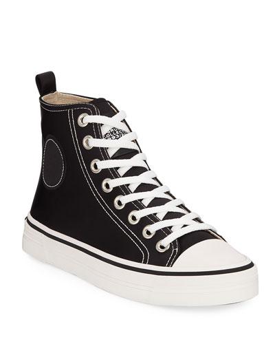 Grunge High-Top Sneakers