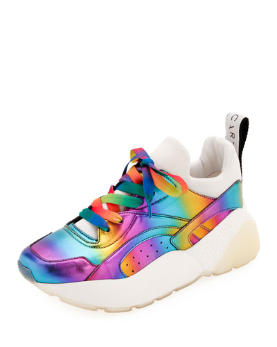 Holographic Rainbow Chunky Sneakers