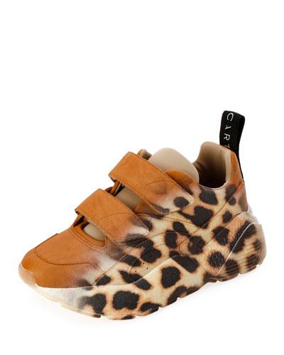 Eclypse Ombré Leopard Platform Sneakers