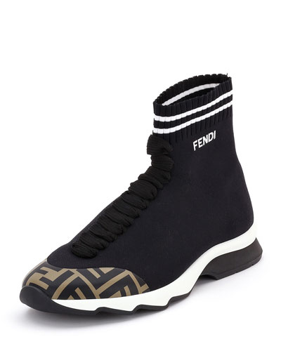 FF Mid-Top Sock Sneakers