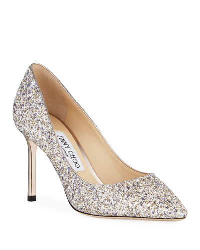 50d23740a89 Romy Glitter Pointed Pumps Quick Look. Jimmy Choo