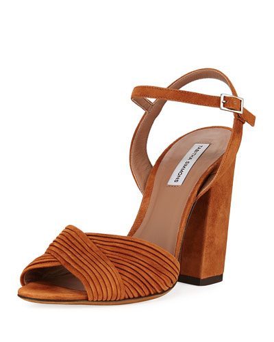 1b24d59b3c47 Kali Layered Suede Sandals Quick Look. Tabitha Simmons