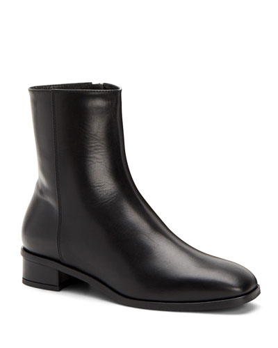 Lucie Leather Booties