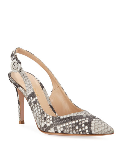 9a4517aafa1 Python Slingback Pumps Quick Look. Gianvito Rossi
