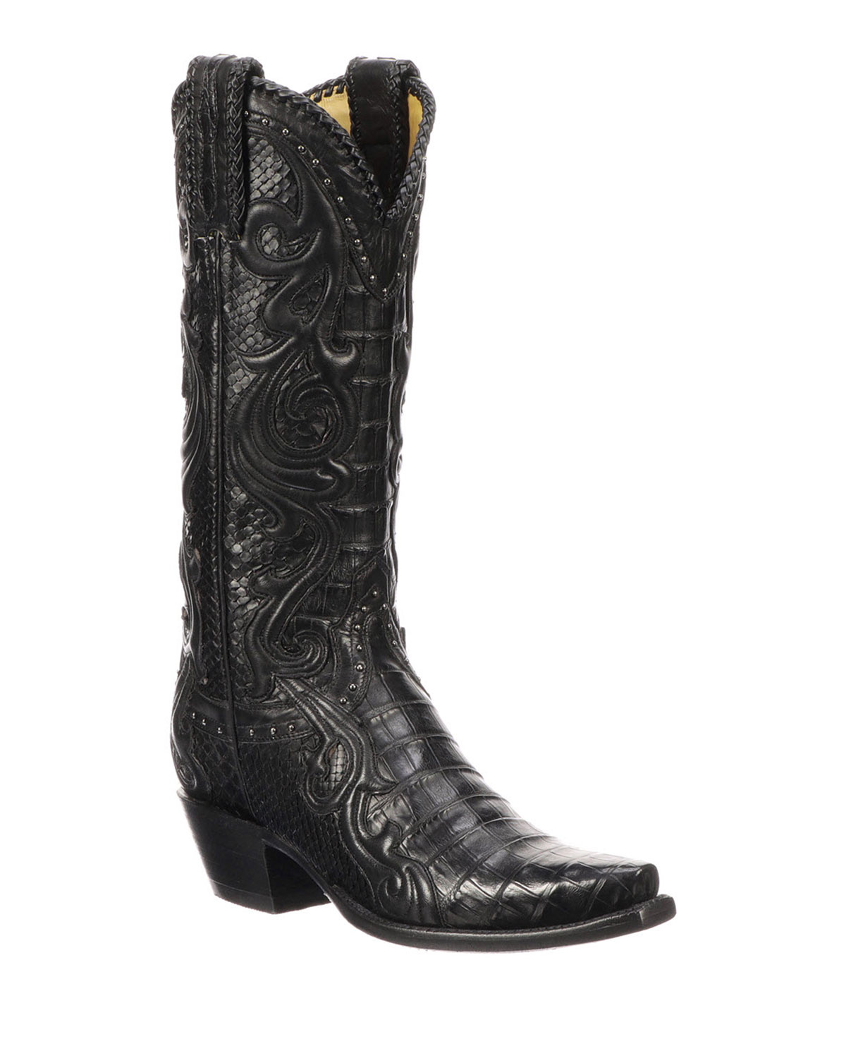 Lucchese Boots SHERIDAN PYTHON COWBOY BOOTS