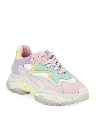 Addict Pastel Suede Sneakers