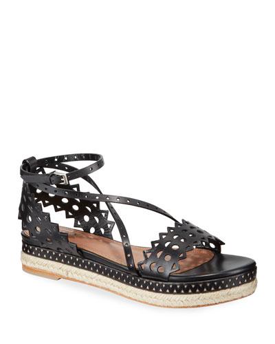 Vienne Platform Espadrille Sandals