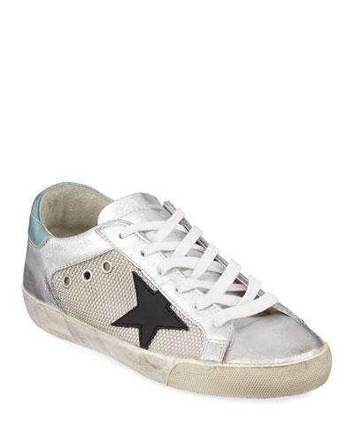 Superstar Metallic Leather Sneakers