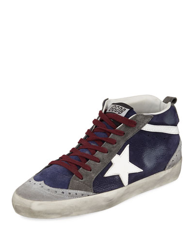 Superstar Leather Mid-Top Sneakers