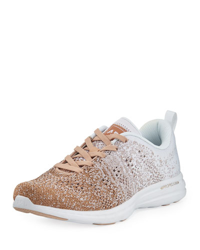 Techloom Pro Ombre Metallic Knit Sneakers
