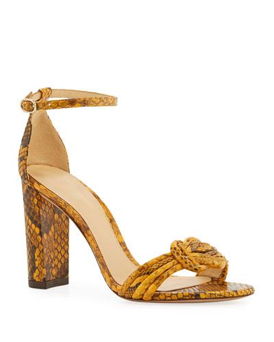 32e4cb093996 Chiara Python Block-Heel Sandal