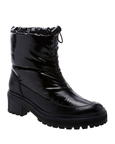 Julieta Nylon Drawstring Boots