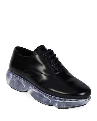 Leather Sport Lace-Up Dress Shoes