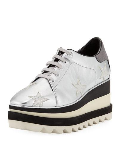 290da55989260 Stella Mccartney Platform Shoes. Sneakelyse Stars Platform Sneakers