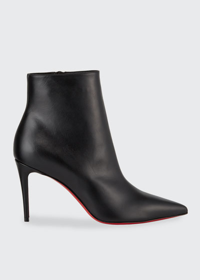 So Kate Leather Red Sole Booties