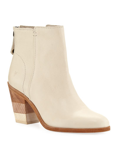 Cameron Leather Ankle Booties