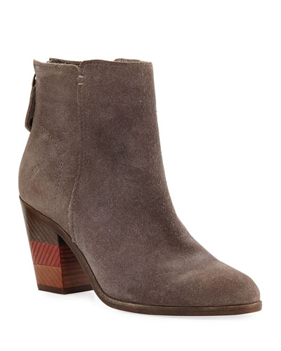 Cameron Suede Ankle Booties