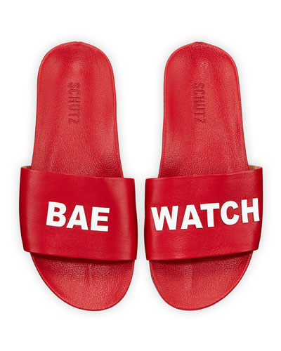 Bae Watch Pool Slide Sandals