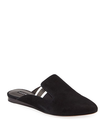 Greyson Flat Sport Suede Mules