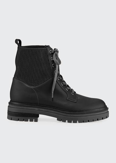Martis Calf Eco Combat Boots