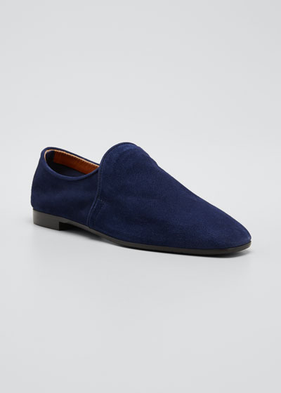 Revy Suede Flat Loafers