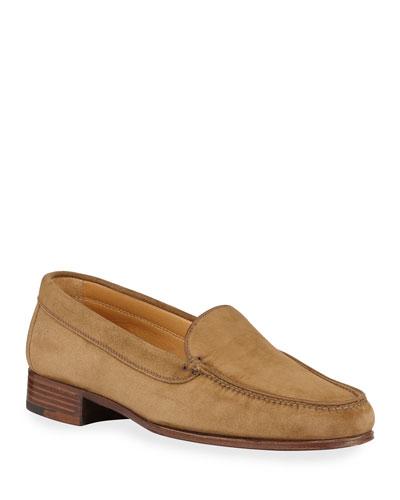 Venetian Suede Loafers