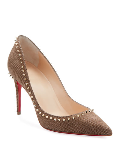 Anjalina Spike Pointed Toe Pumps