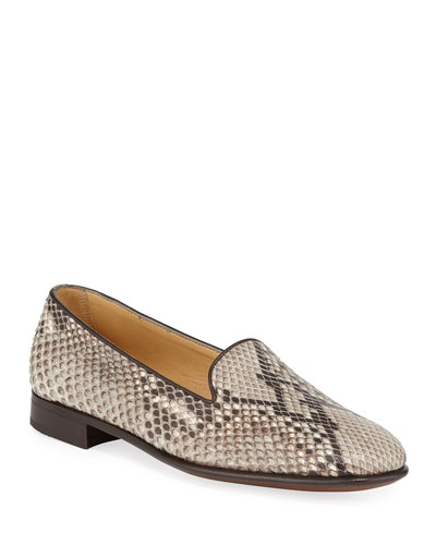 Python Slip-On Loafers