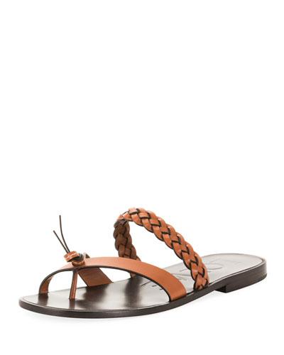 edea982aef3 x Paula s Ibiza Braided Flat Sandals