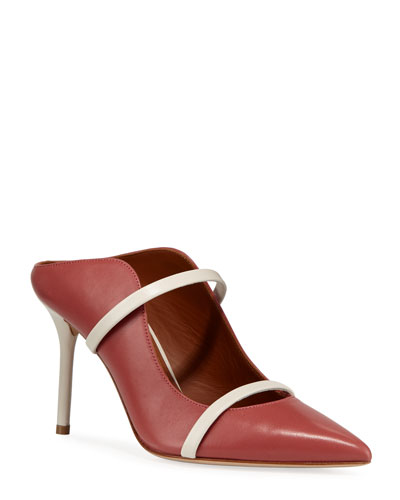Maureen Two-Strap Mules