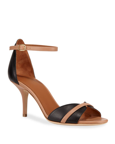 Honey Napa Ankle-Strap Sandals