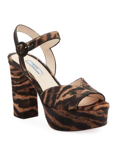 Animalier Platform 105mm Sandals