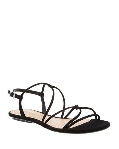 Boyet Flat Suede Sandals