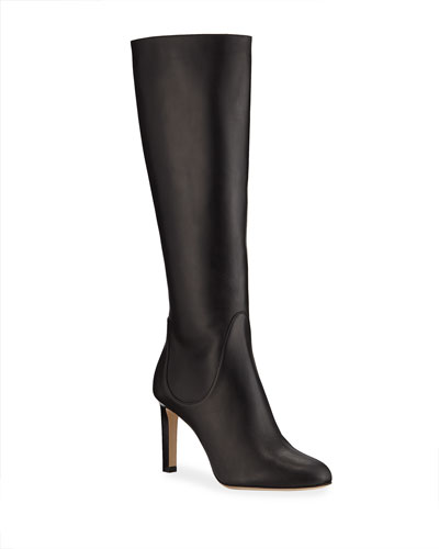 Tempe Leather Knee Boots