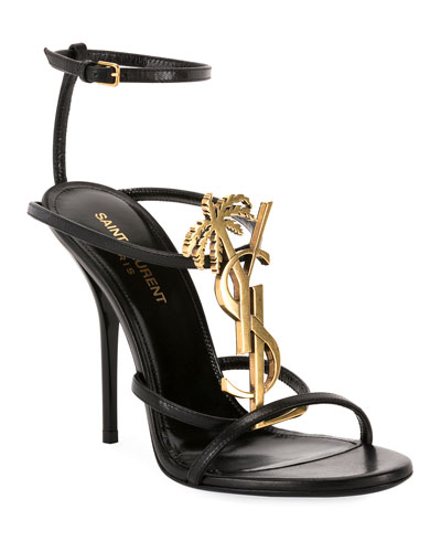 Cassandra High Logo Sandals