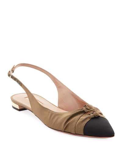 Mondaine Slingback Ballet Flats