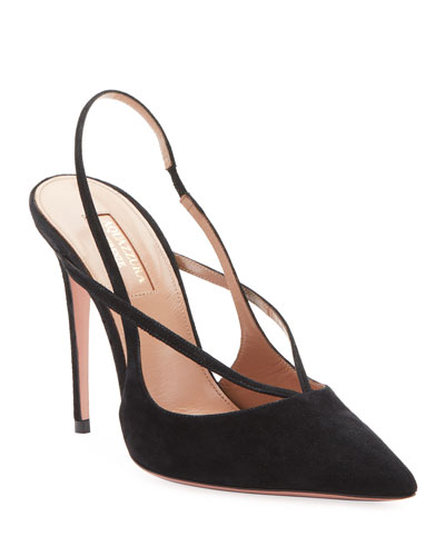 Soul Suede Strappy Pumps