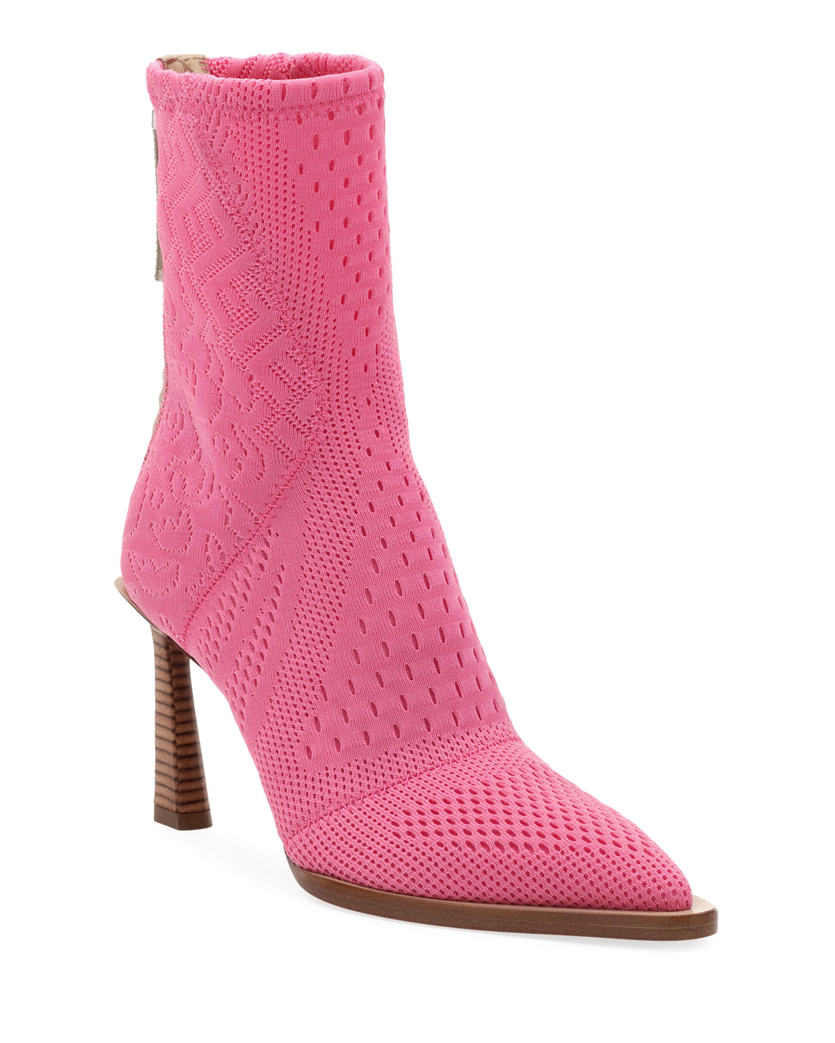 Fendi Boots STRETCH-KNIT HIGH BOOTIES