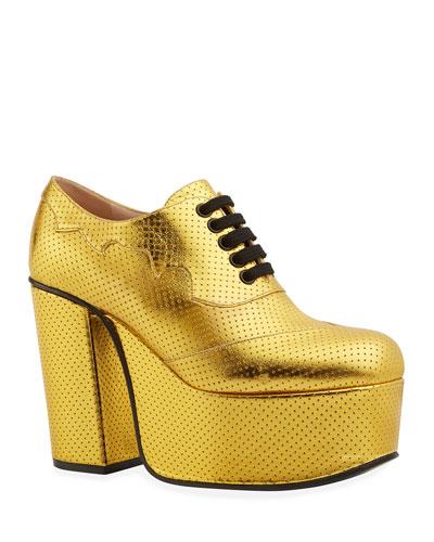 a7ecdc3da5e54 Gucci Lace Up Shoe | bergdorfgoodman.com